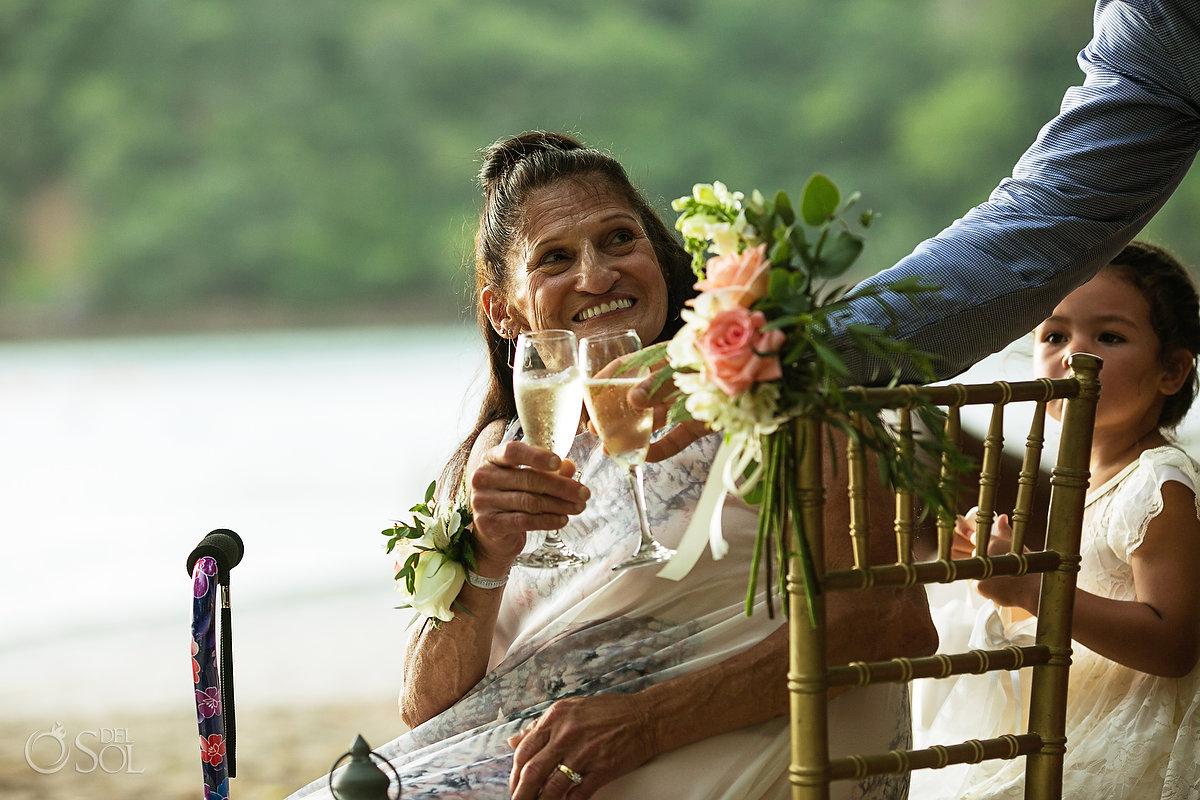 Dreams Las Mareas Wedding flowers