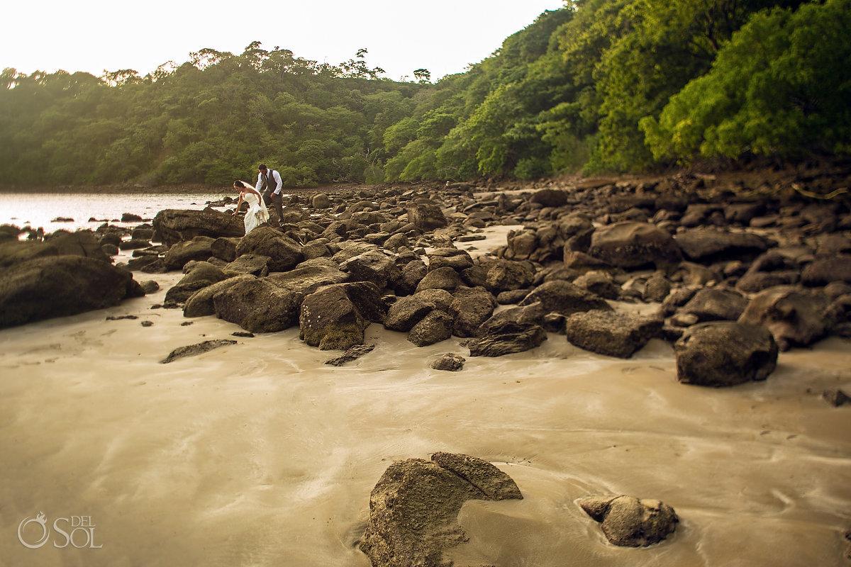 Dreams Las Mareas Wedding on the beach