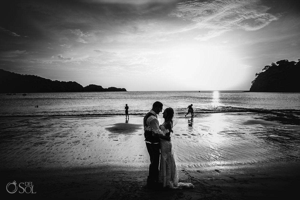 Dreams Las Mareas Wedding Photo on the beach