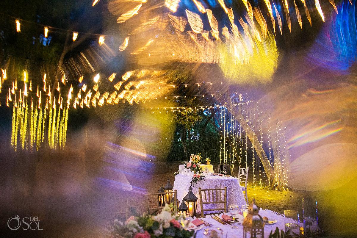 Dreams Las Mareas destination Wedding Reception