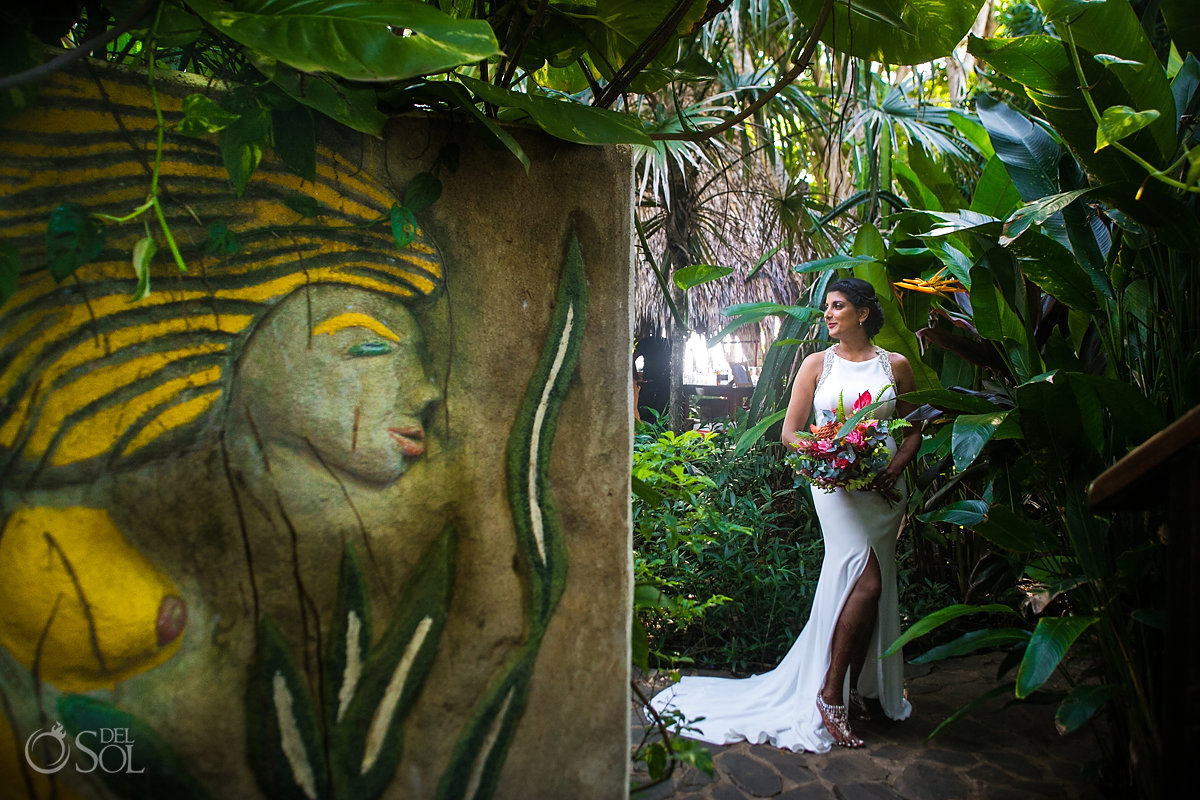 Hindu Bride Photo sueño del mar bed and breakfast Tamarindo Costa Rica