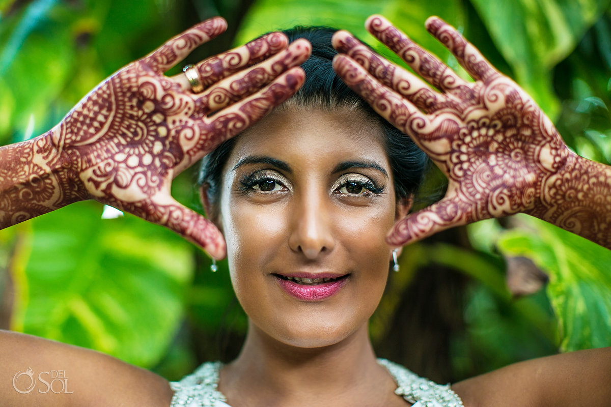 Mandy Mahil mango pie founder - bridal henna mehndi photoshoot