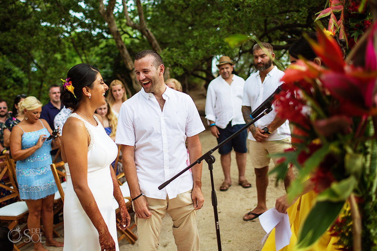 Outdoor Ceremony Guanacaste Costa Rica Wedding