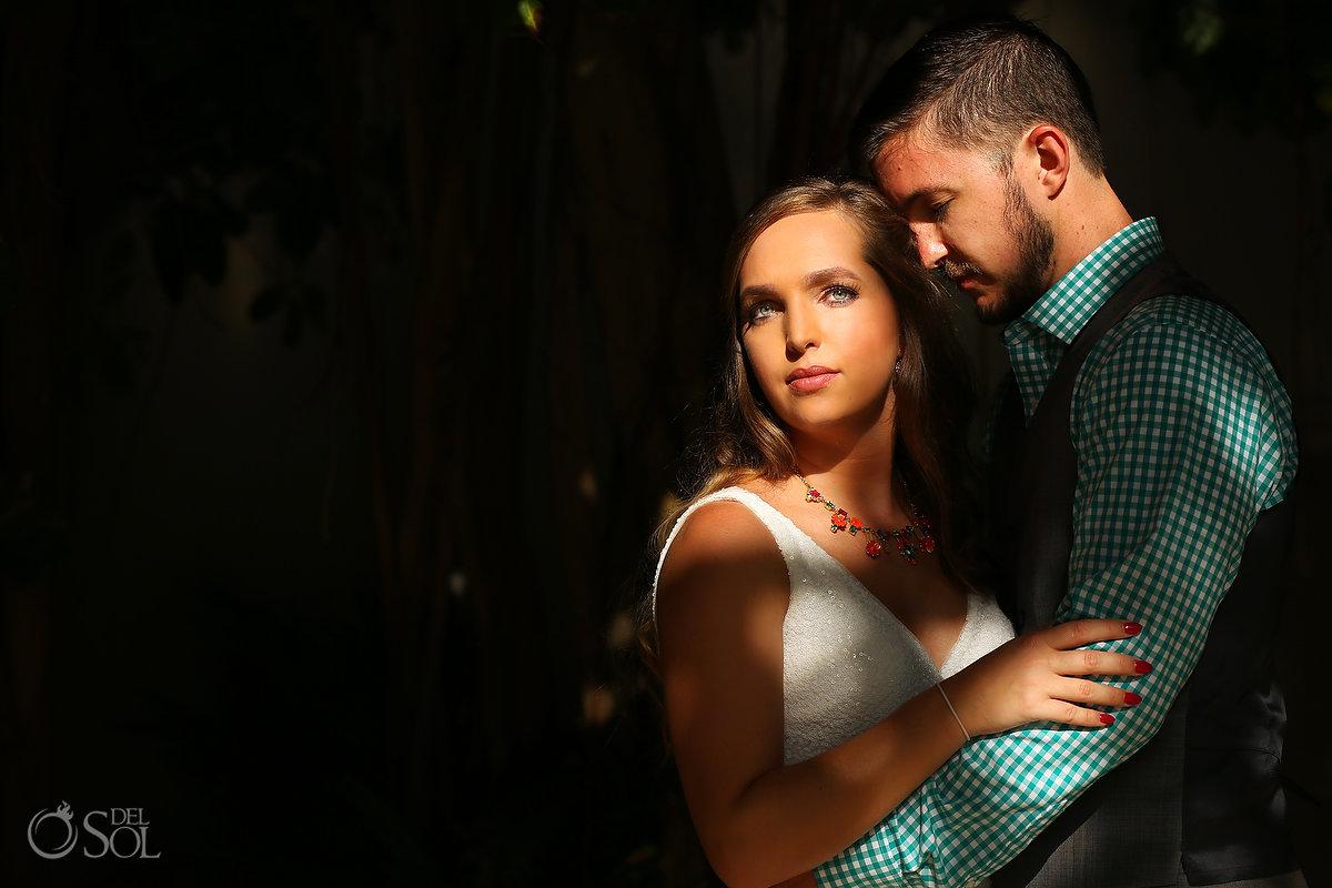 Hyatt Ziva Cancun Wedding portrait