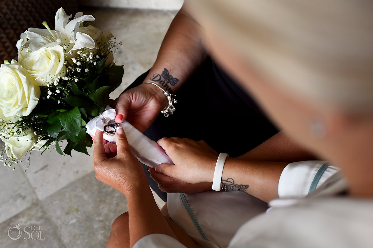 Getting Ready White Natural Flower Bouquet Love Emotive Detail Connection Forever