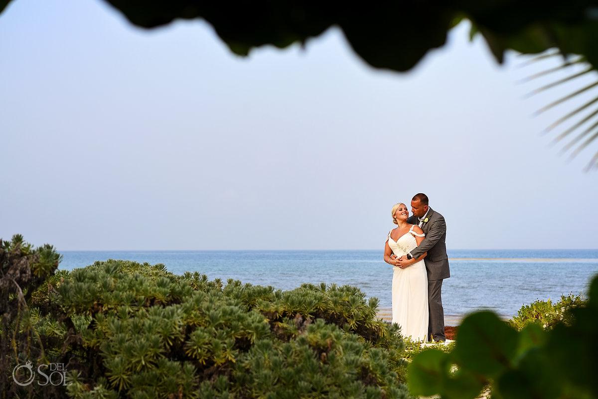 Romantic Newlyweds Portrait Session Secrets Maroma Beach Wedding Lovely Landscape