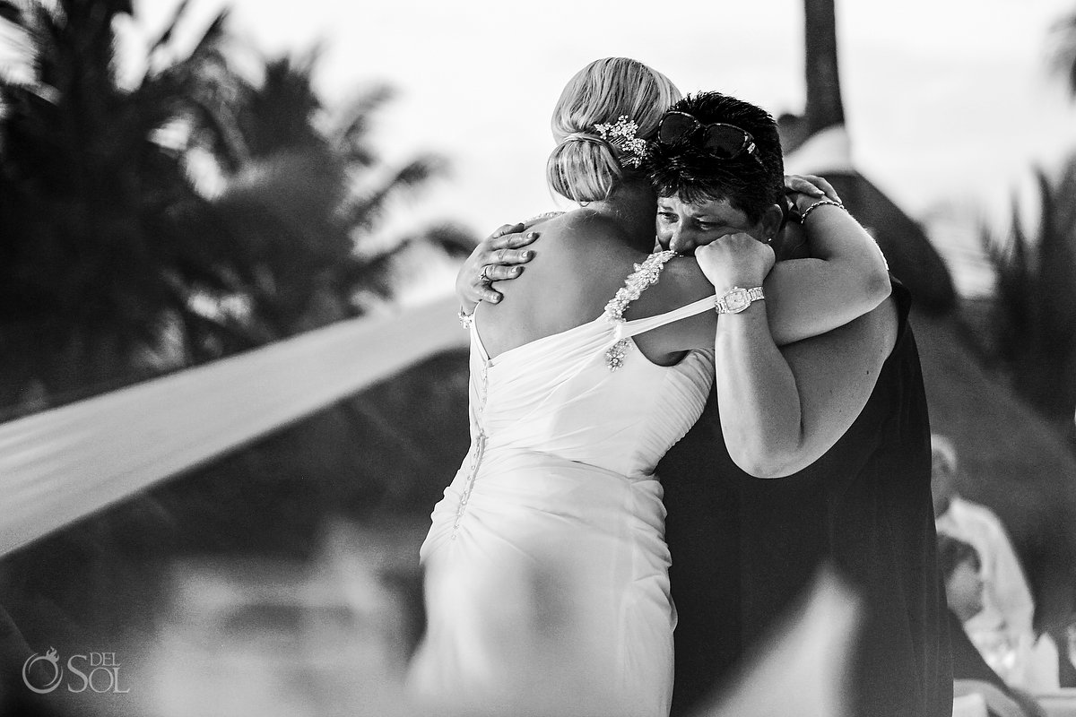 Affecting Documentary Bride Mom Black White Documentary Moment Dance