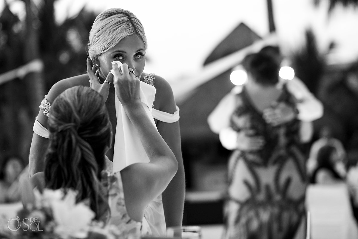 Black White Documentary Photography Cleaning Bride Tears Mom Groom Dance