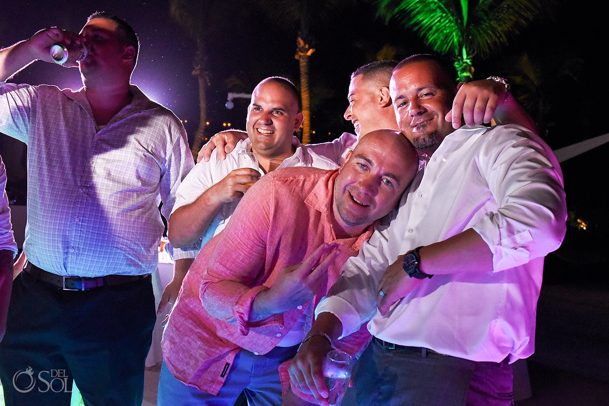 Grooms Best Friends Party Wedding Reception Casual Documentary Photography