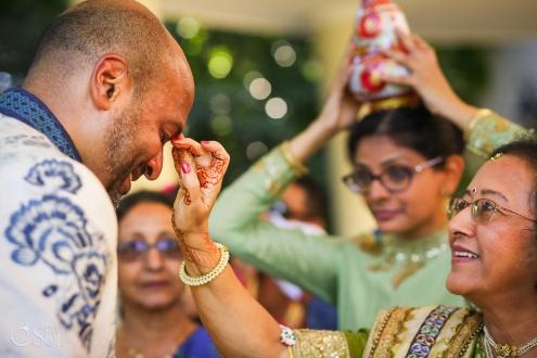 Tilak Ceremony Dreams Tulum Indian Wedding