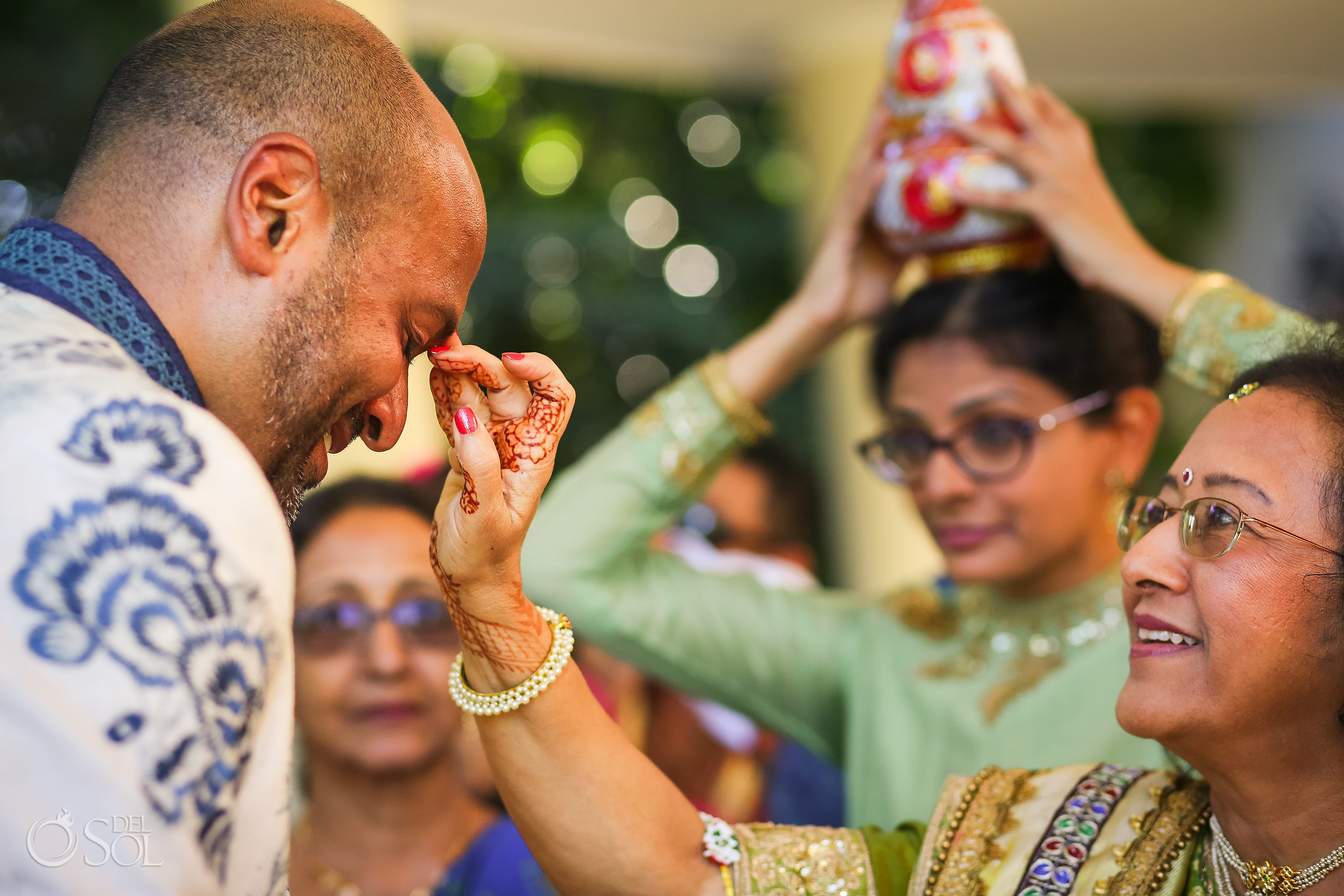 Tilak Ceremony Dreams Tulum Indian Wedding