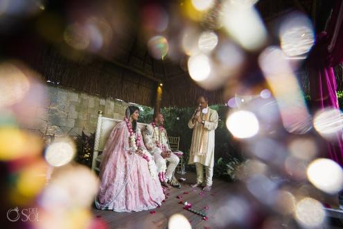 Indian wedding ceremony Dreams Tulum