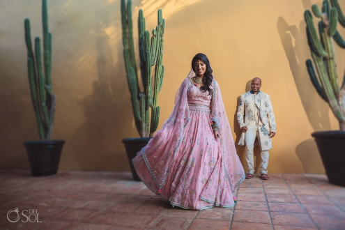 Indian Wedding Rivera Maya Mexico