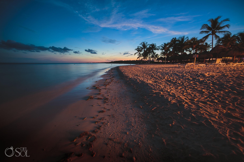 Dreams Tulum Beach sunsets