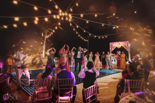 Bollywood guest performance wedding reception Dreams Tulum