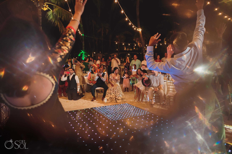 Indian Wedding Reception Dreams Tulum