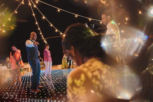 surprise dance indian groom performance Dreams Tulum wedding reception