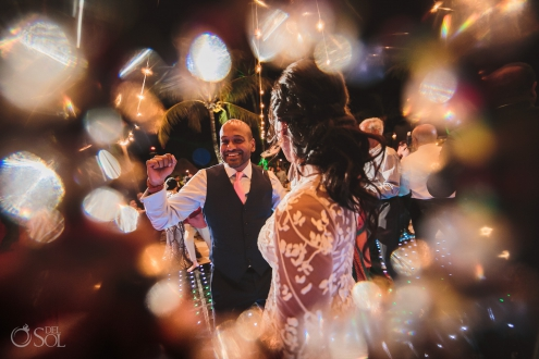 Dreams Tulum Indian wedding party time