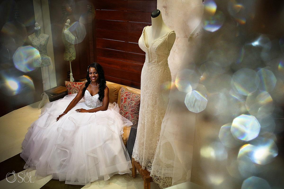 Bridal portrait Grand Velas Wedding