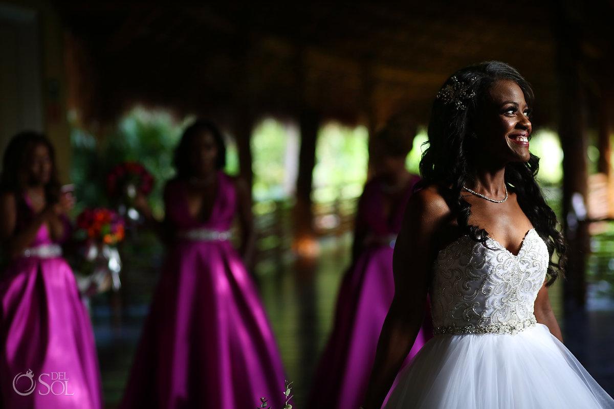 Grand Velas Wedding Bridal Party