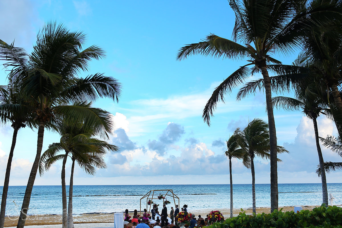 Grand Velas Wedding Riviera Maya beach ceremony