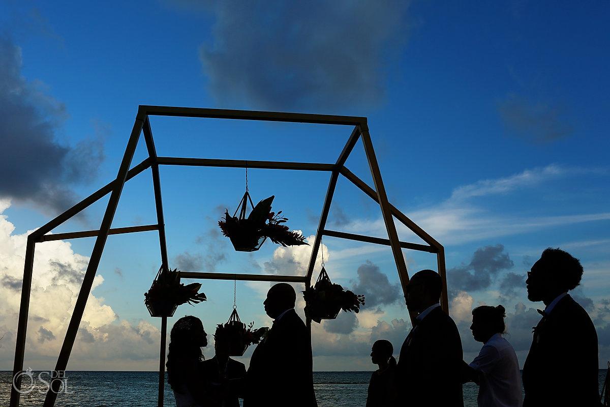 Grand Velas Wedding Ceremony Gazebo