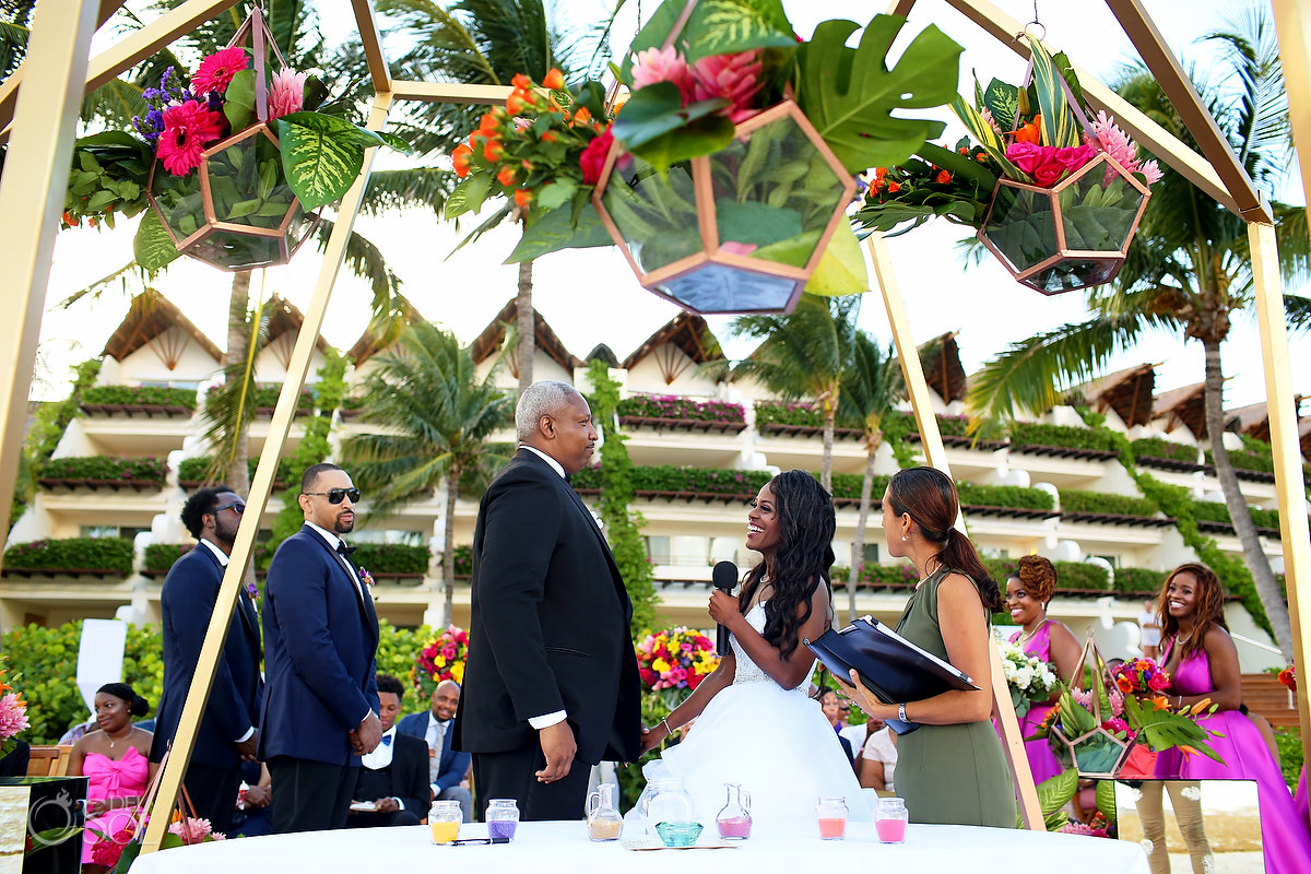 Grand Velas Wedding ceremony vows
