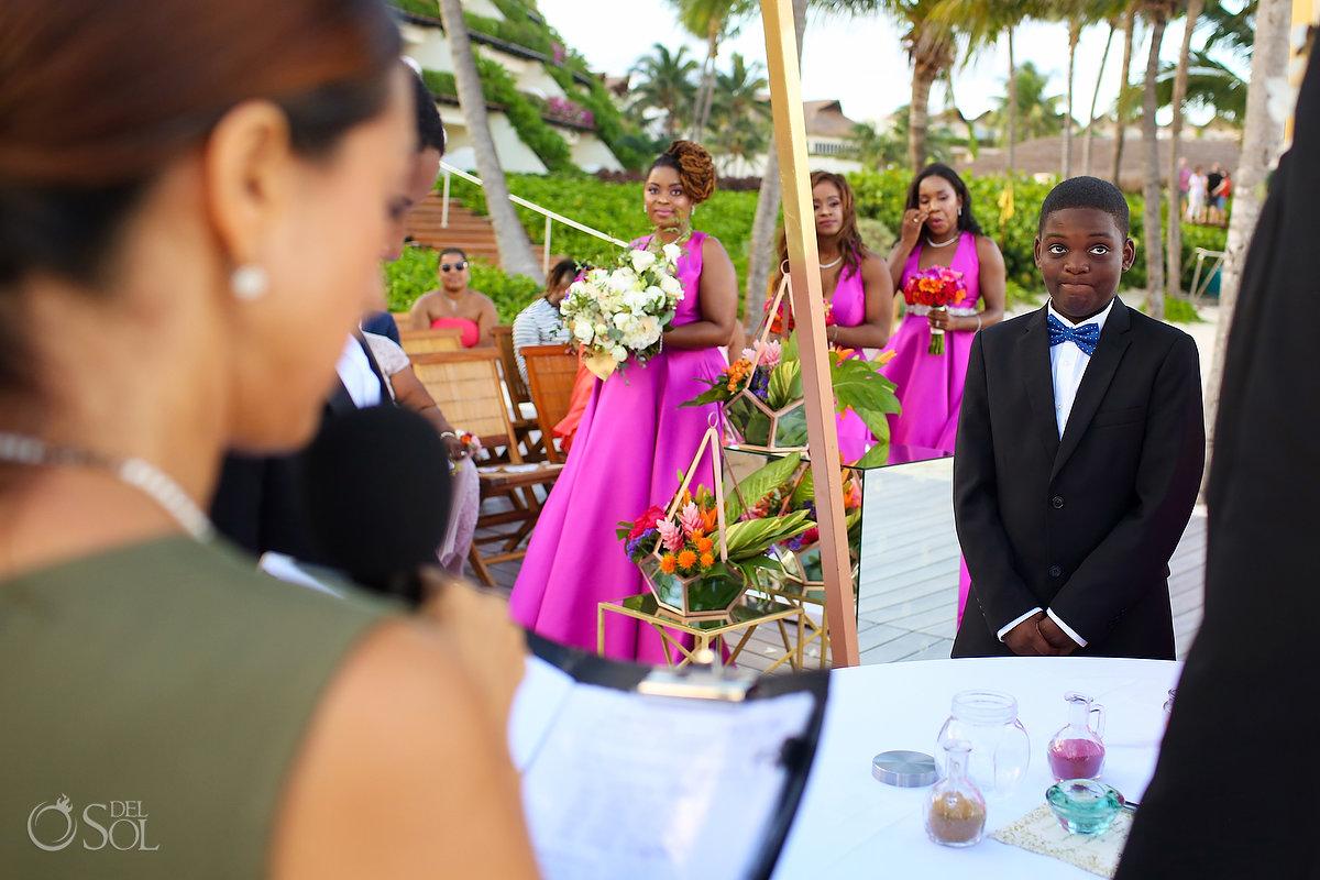 bridesmaids Grand Velas Wedding