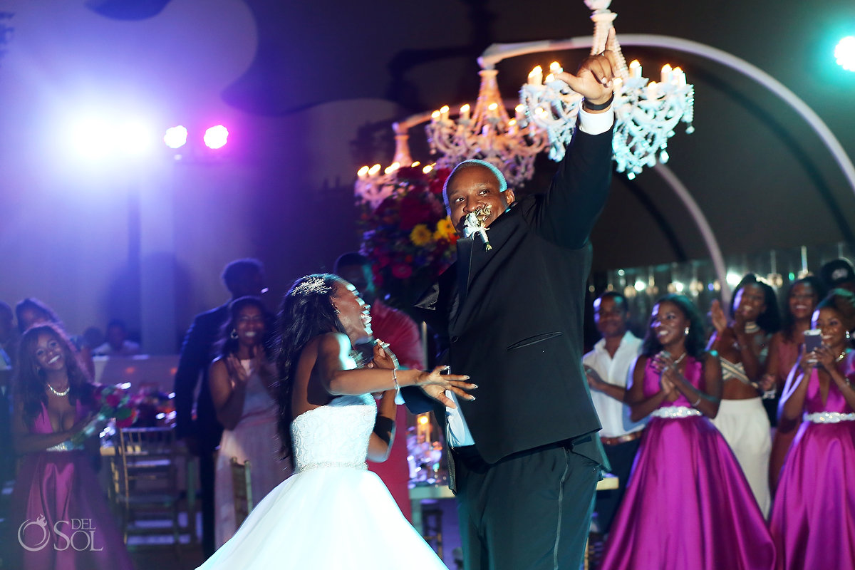 Grand Velas Wedding reception special moments