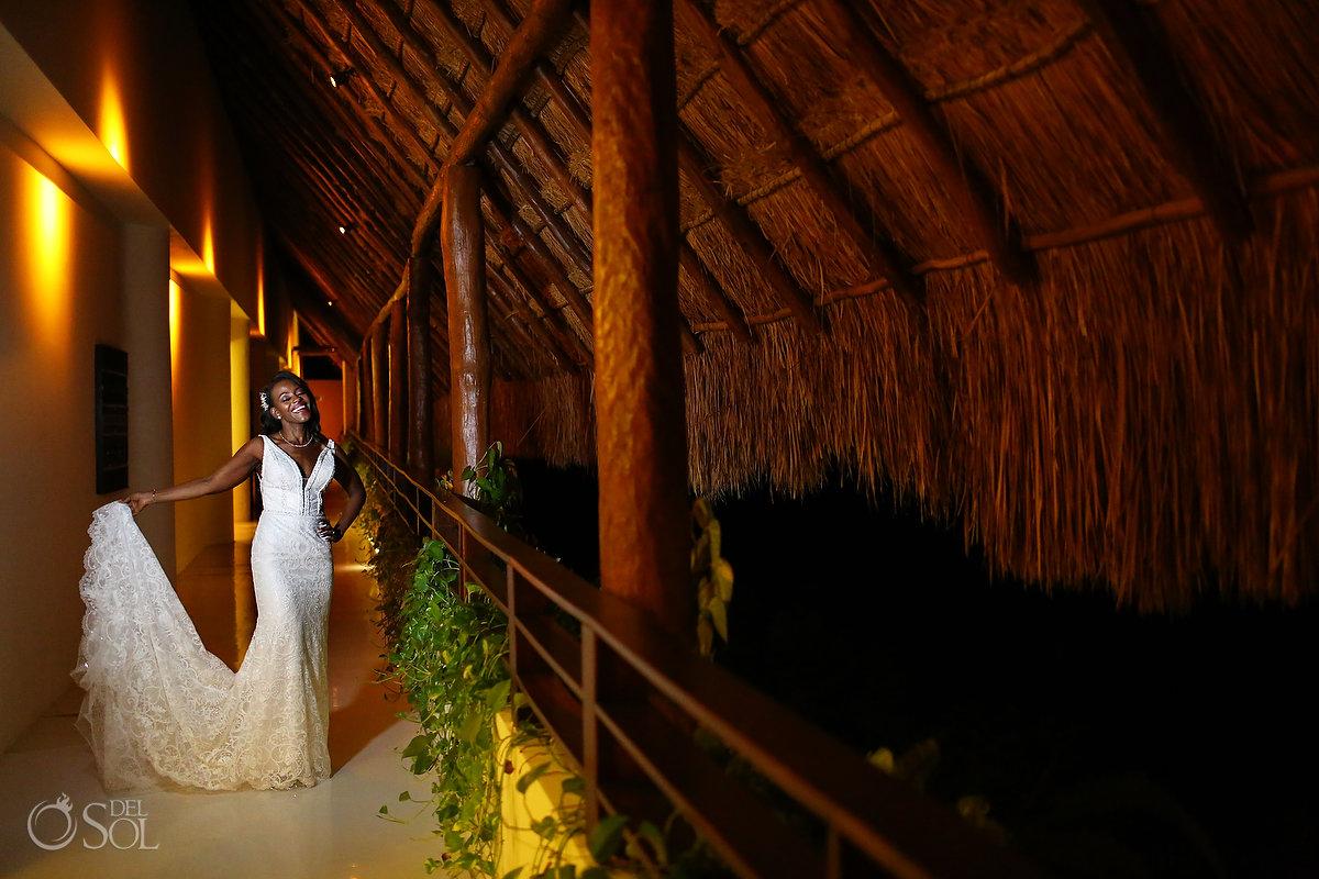 Photo of a bride at Grand Velas Weddings