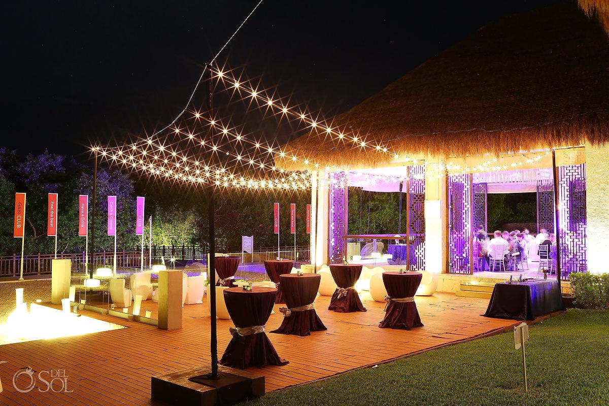 Gabi Club Paradisus Playa del Carmen destination wedding reception venue