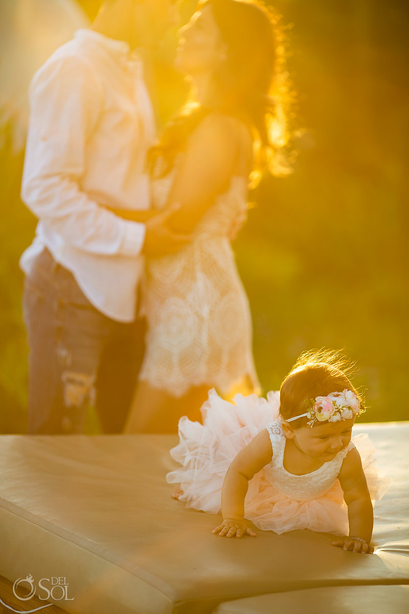 tulum family portrait baby photography