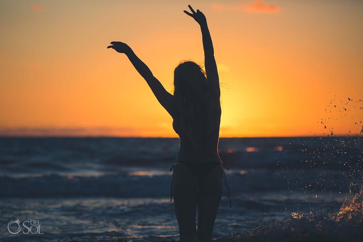Sunrise Belomnd Maroma Playa del Carmen Lifestyle Photography Session Allison Dunbar