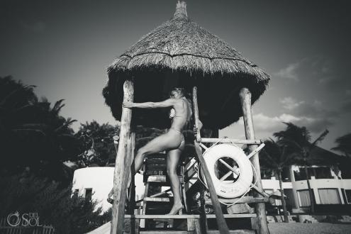 Playa del Carmen Lifestyle Photography Bikini Shoot