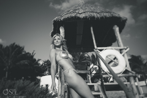 Beach Bikini Babe Belmond Maroma