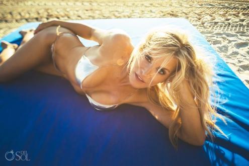 Allison Dunbar Bikini model Session Belmond Maroma