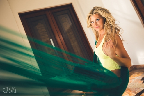 Bikini Session with Allison Dunbar at Belmond Maroma Spa and Resort