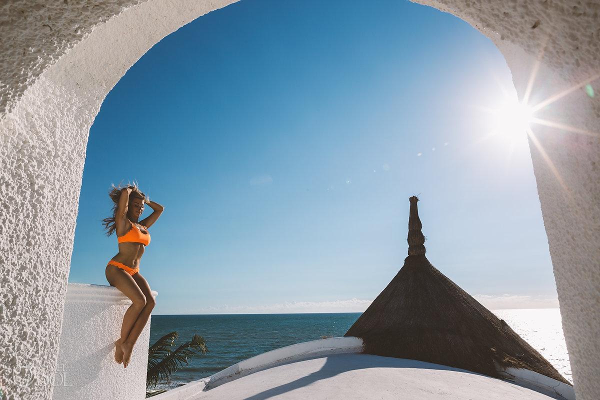 Allison Dunbar bikini model Playa del Carmen Lifestyle Photography