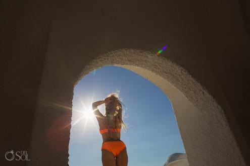 Belmond Marmoa Allison Dunbar bikini model