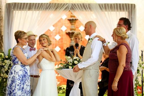 unique ceremony ideas blessing parents Dreams Tulum Spiritual Wedding