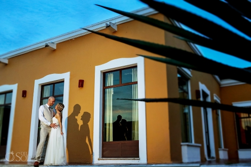 Dreams Tulum Wedding Portrait
