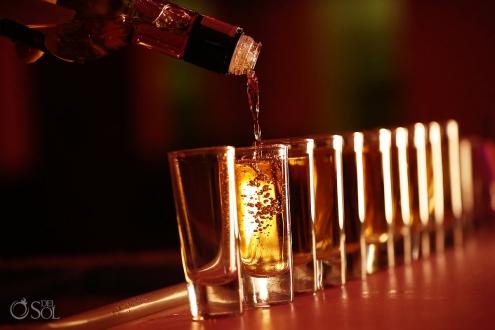 Tequila Shots Dreams Tulum Ballroom destination wedding reception