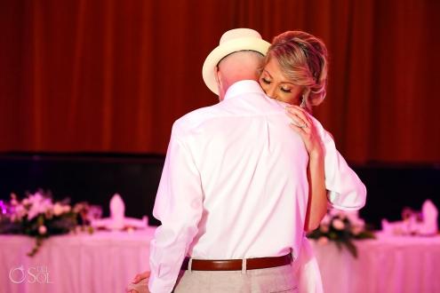 Father Daughter Dance Dreams Tulum Ballroom destination wedding reception
