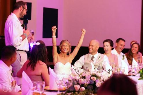 Speeches Dreams Tulum Ballroom destination wedding reception