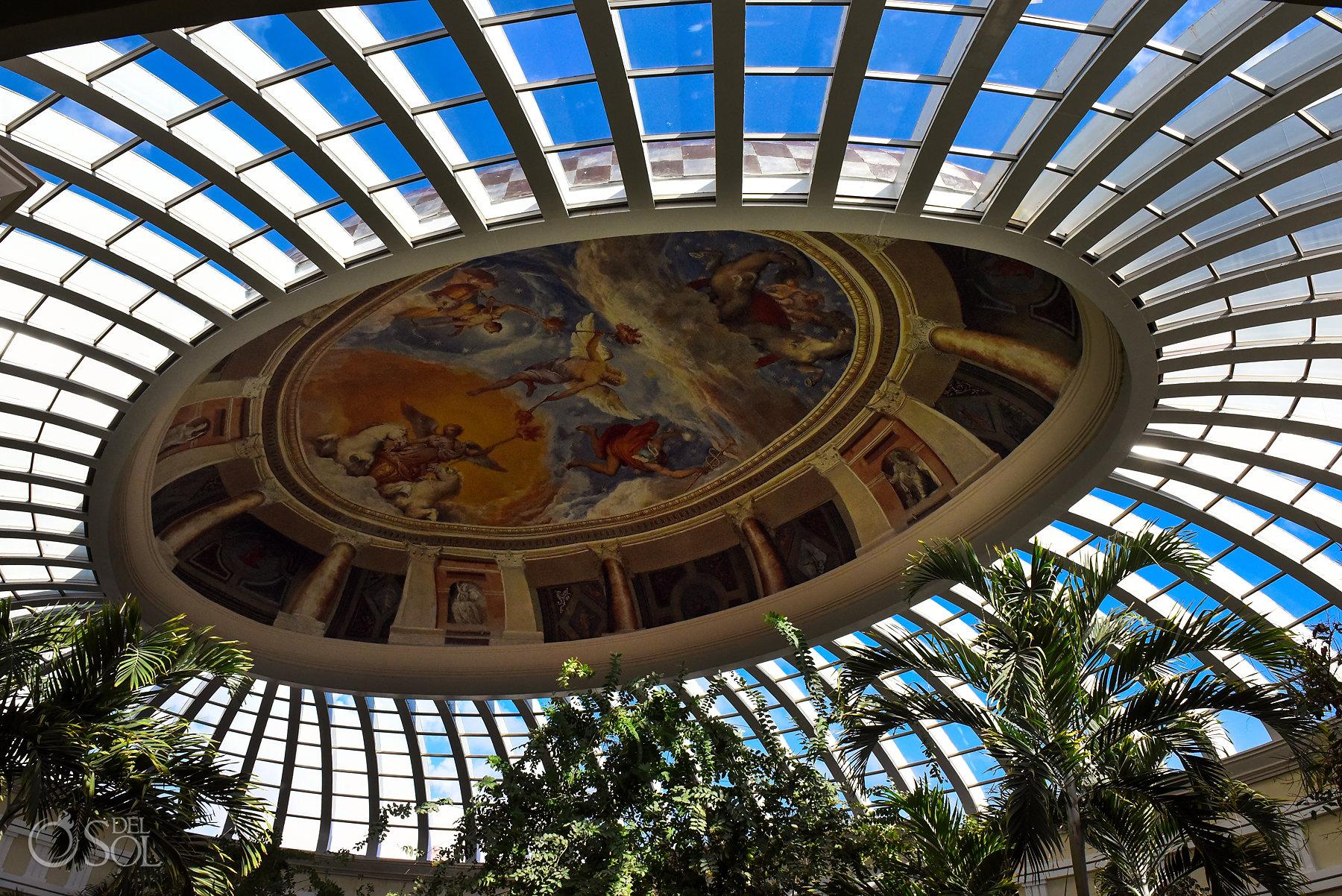 Iberostar Grand Paraiso lobby seiling