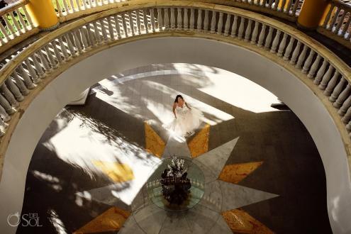 Iberostar Grand Paraiso wedding venue Bride portrait