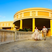 bride and groom Iberostar Grand Paraiso wedding venue portraits