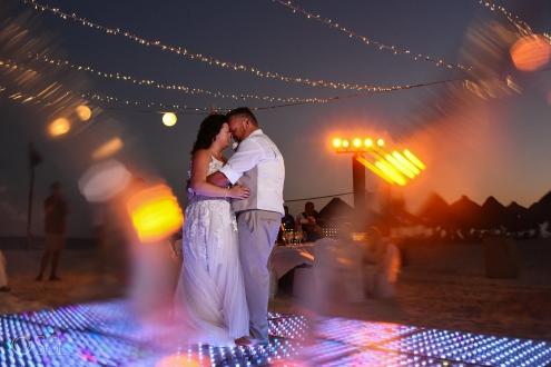 Iberostar Grand Paraiso wedding reception first dance