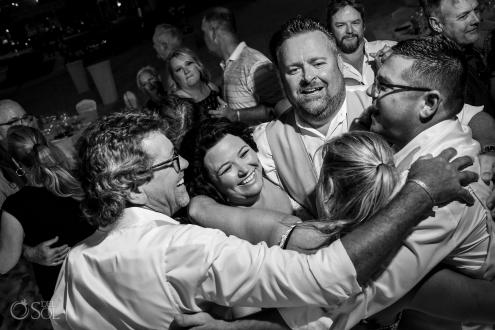 Iberostar Grand Paraiso wedding reception celebration fun