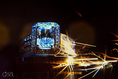 epic wedding ring Iberostar Grand Paraiso